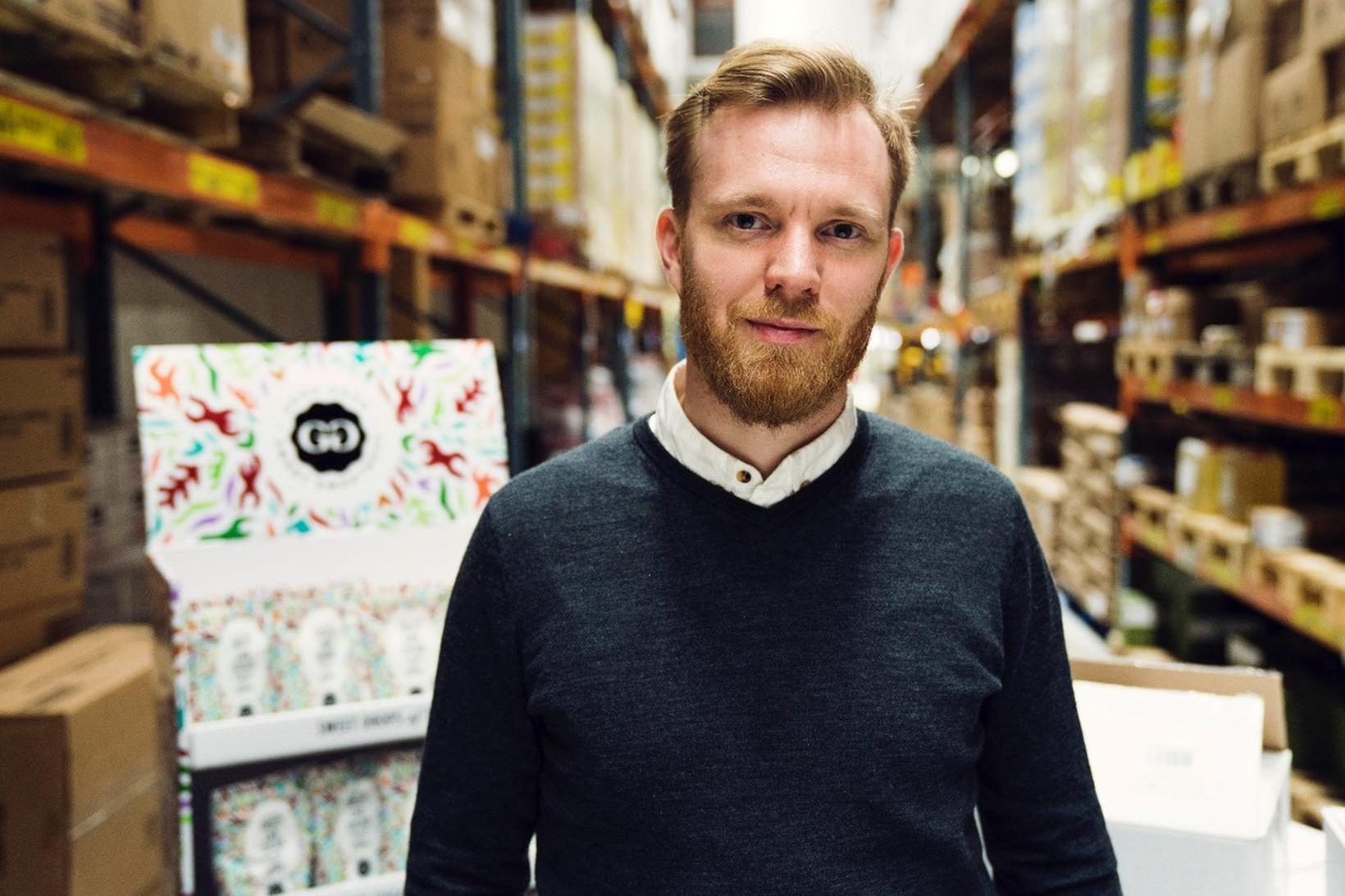 Garðar Stefánsson, framkvæmdastjóri Good Good.