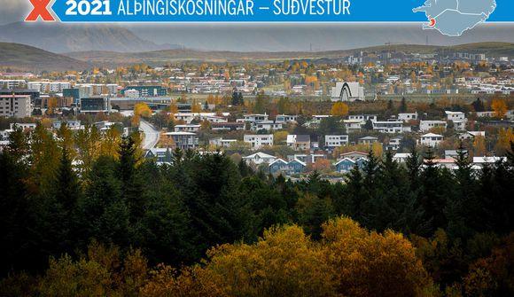 Um 17% búin að kjósa í Suðvesturkjördæmi