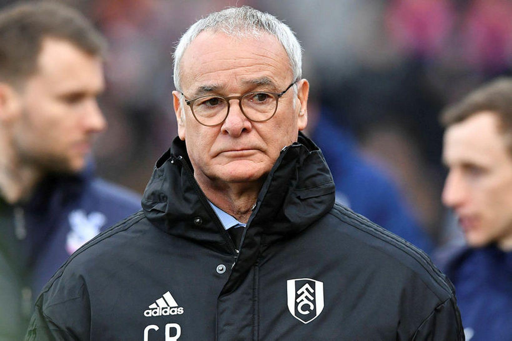 Claudio Ranieri er hann stýrði Fulham fyrir nokkrum árum.