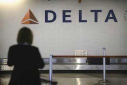 Atvikið átti sér stað um borð í vél Delta Airlines.