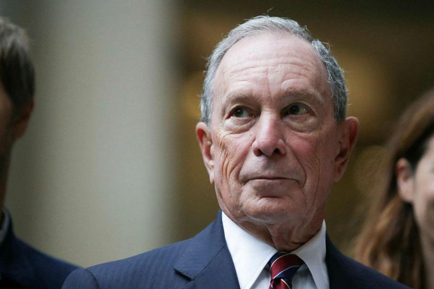 Michael Bloomberg, fyrrverandi borgarstjóri New York-borgar, er sagður vera að …
