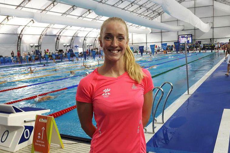Hrafnhildur Lúthersdóttir in Rio.