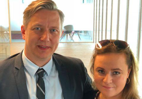 Sigtryggur Magnason og Júlía Margrét Alexandersdóttir