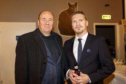 Arnaldur Indriðason og Egill Örn Jóhannsson.