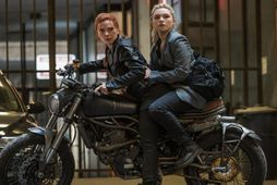 Scarlett Johansson og Florence Pugh í Black Widow.