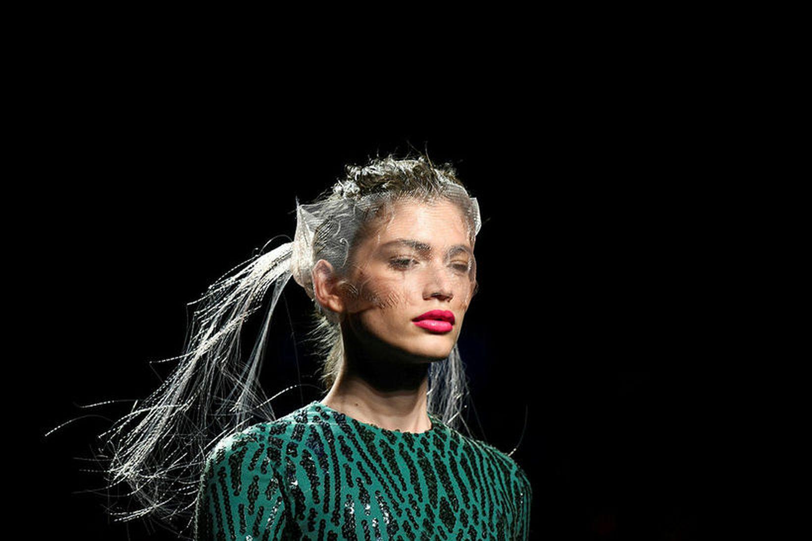 Valentina Sampaio er frá Brasilíu.