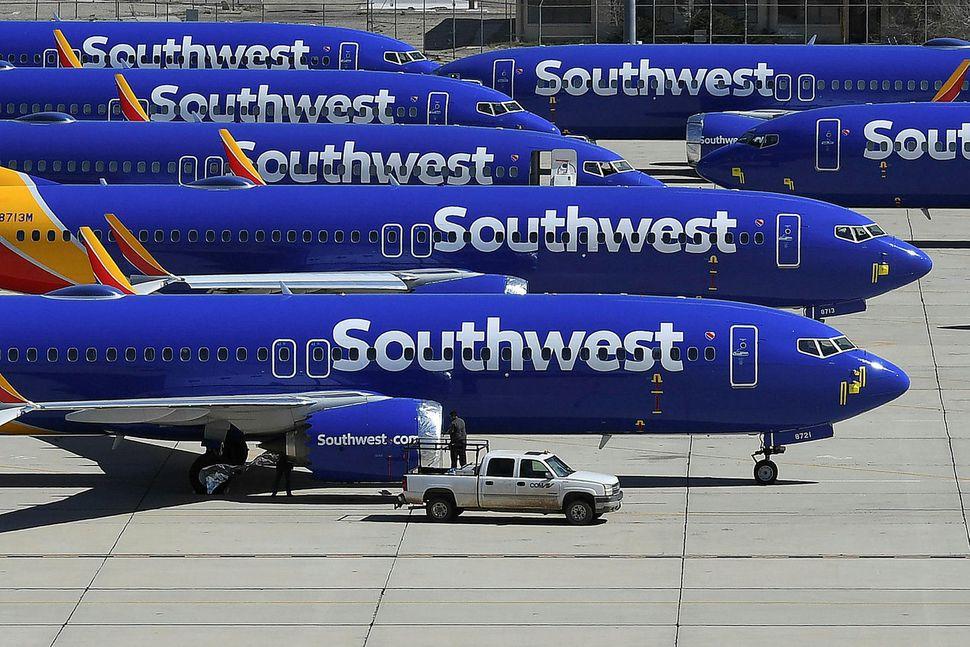 Boeing 737 MAX-þotur Southwest Airlines.