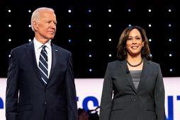 Joe Biden, nýkjörinn forseti Bandaríkjanna og Kamala Harris varaforseti.