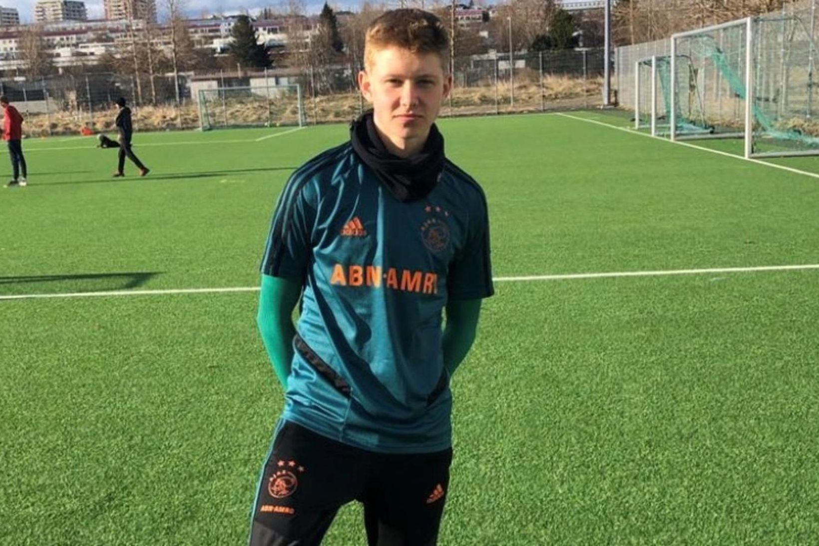 Kristian Nökkvi Hlynsson er leikmaður Ajax.