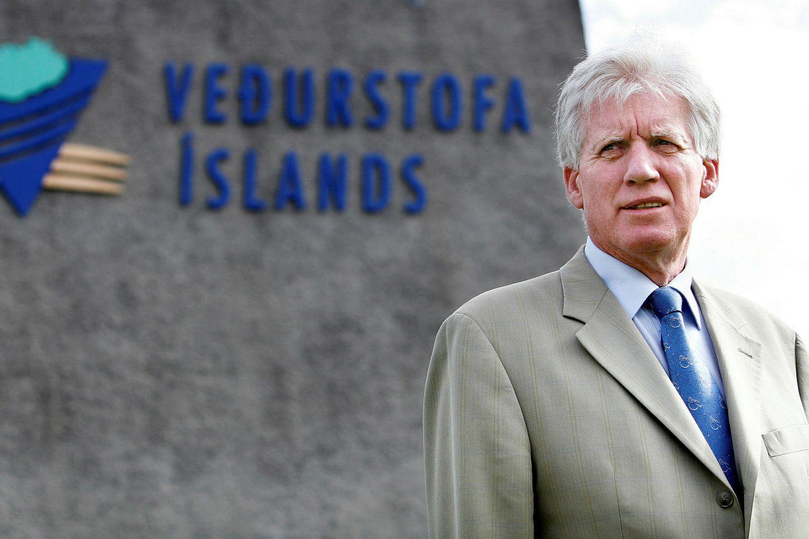 Magnús Jónsson veðurfræðingur og fyrrverandi veðurstofustjóri.