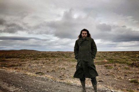 Jason Momoa in Iceland.