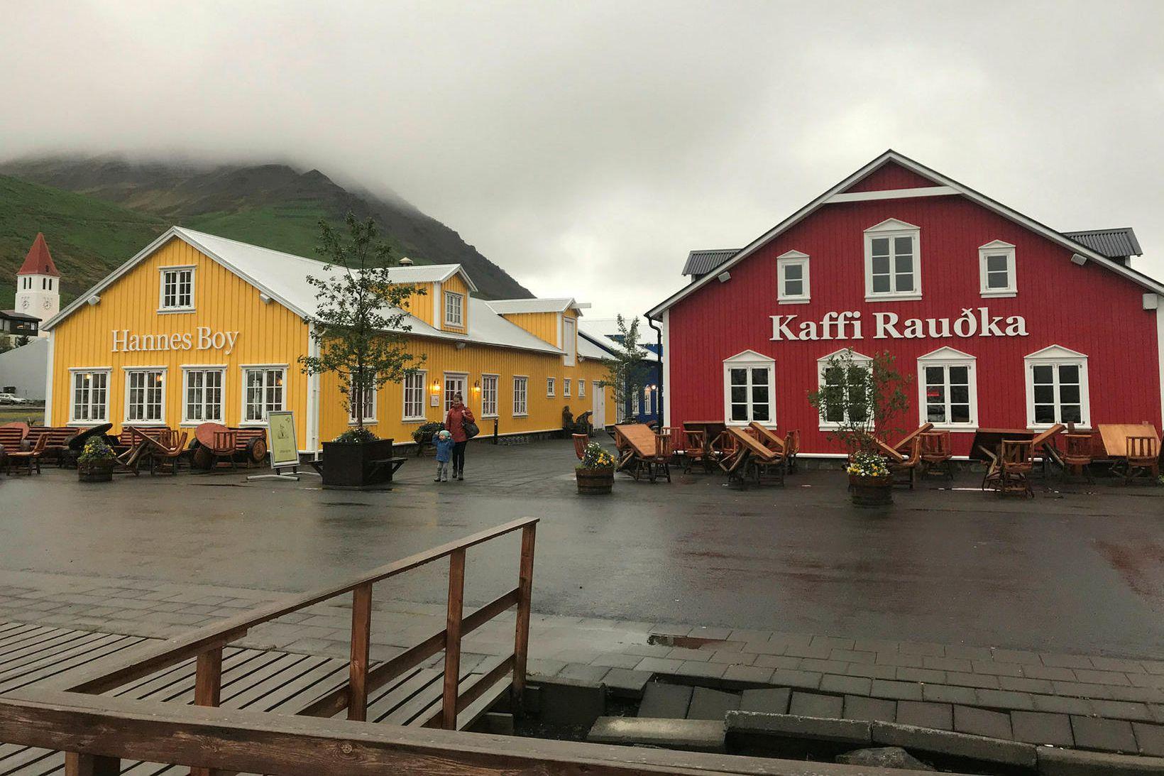 Róbert Guðfinnsson á þrjá veitingastaði á Siglufirði, Hannes Boy, Rauðku …