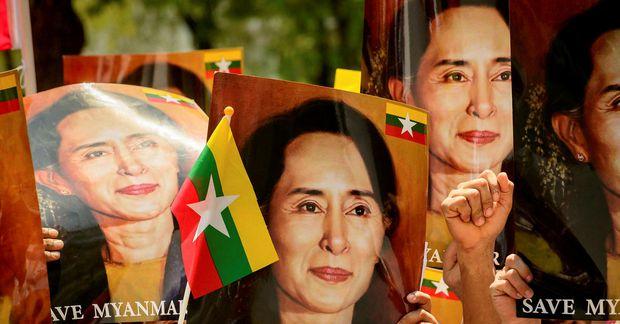 Aung Sang Suu Kyi.