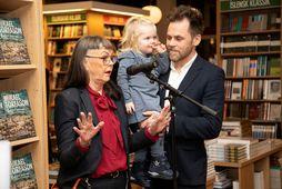 Hulda Fríða Berndsen, Ída dóttir Mikaels og Mikael Torfason.