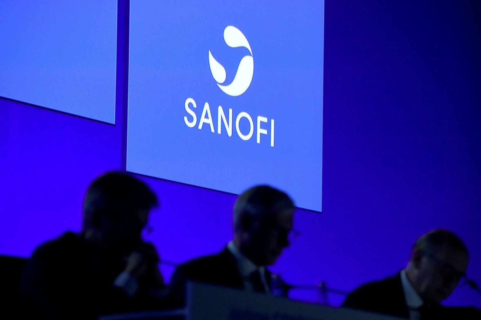 Franski lyfjarisinn Sanofi er eitt þeirra fyrirtækja sem keppast um …