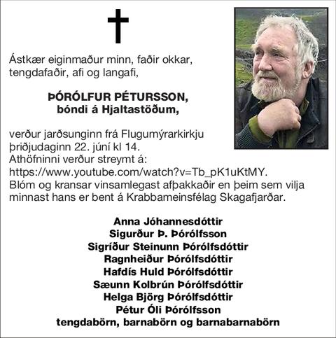 Þórólfur Pétursson,