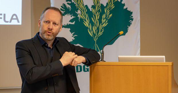 Guðmundur Ingi Guðbrandsson umhverfis- og auðlindaráðherra opnar reiknivélina formlega á miðvikudag.