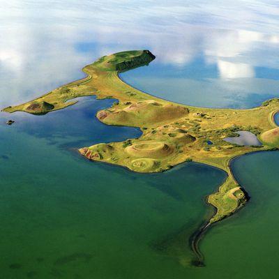 Islands and rocks