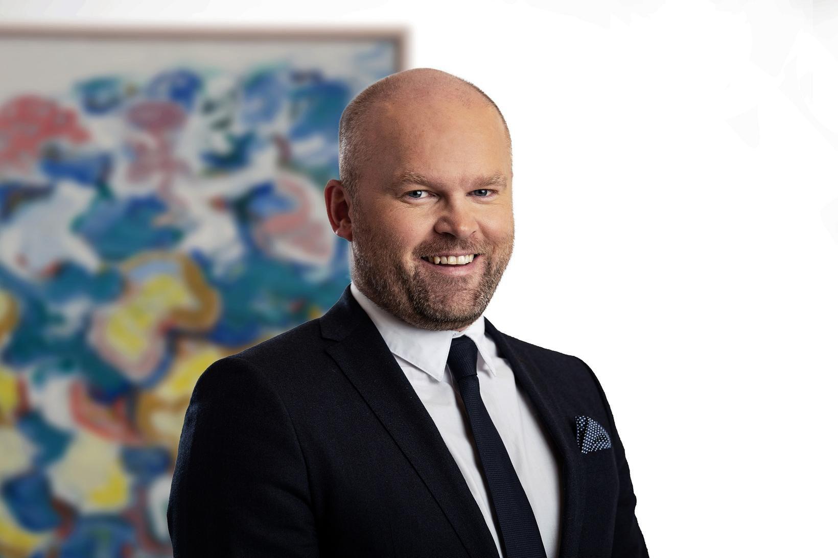 Jóhann Möller, framkvæmdastjóri Stefnis.