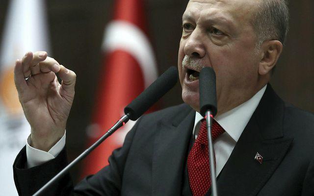 Recep Tayyip Erdogan forseti Tyrklands. Ríkisstjórn hans hefur allt frá 2016 látið handtaka tugþúsundir manna …