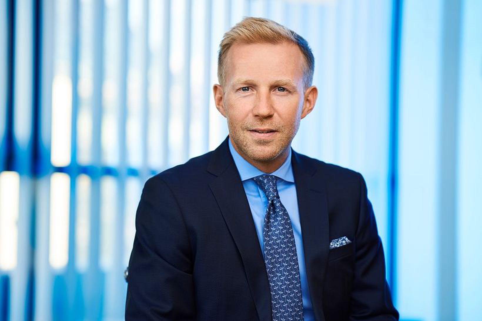 Benedikt Gíslason, bankastjóri Arion banka, segir verðlagningu áhættu af ýmsum …