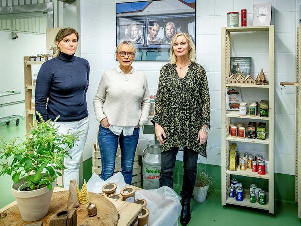 The owners of Gott og blessað: Sveinbjörg Jónsdóttir, Jóhanna Björnsdóttir, and Anna Júlíusdóttir.