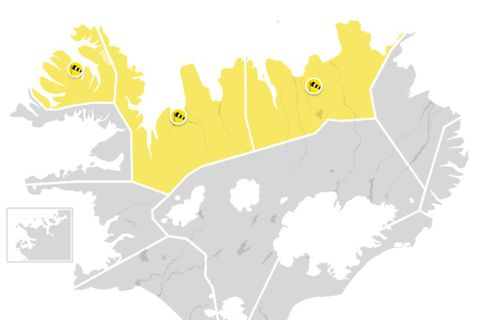 A yellow weather warning has been issued for Wednesday.