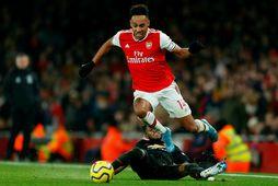 Pierre-Emerick Aubameyang hefur verið algjör lykilmaður í liði Arsenal síðan hann kom frá Dortmund.