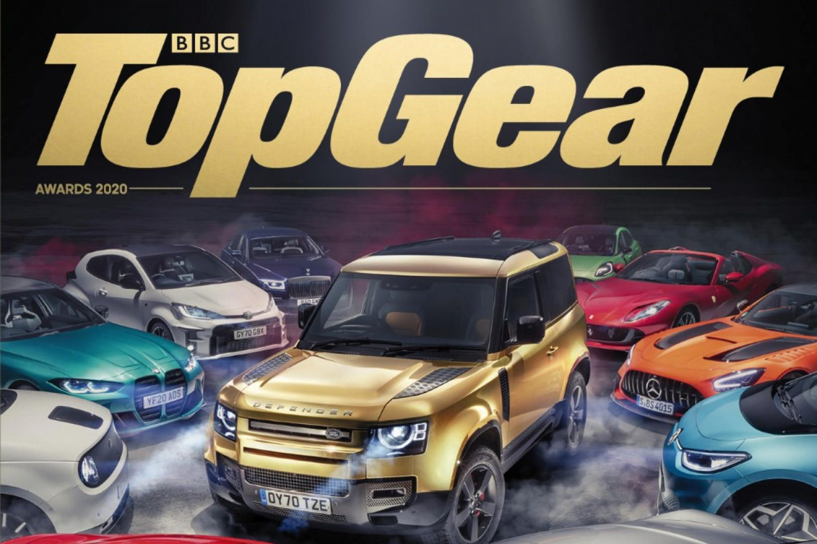 Top Gear hefur valdið Land Rover Defender sem bíl ársins.