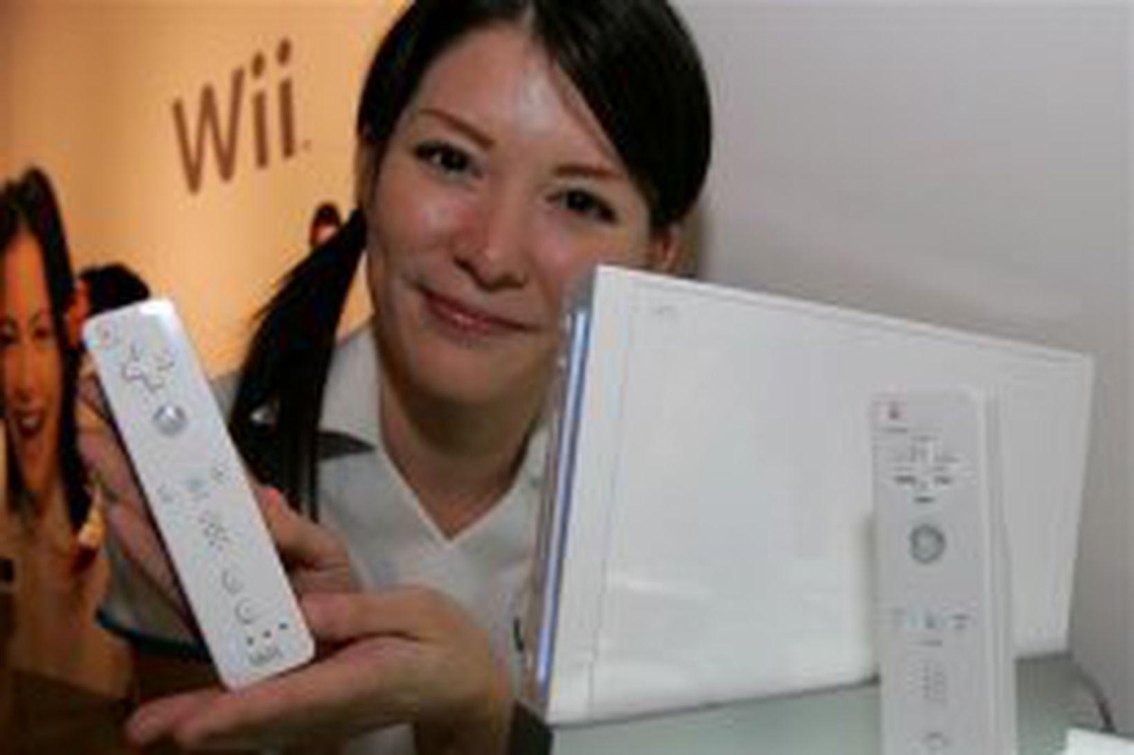 Wii leikjatölvan hefur notið mikilla vinsælda í Bandaríkjunum.