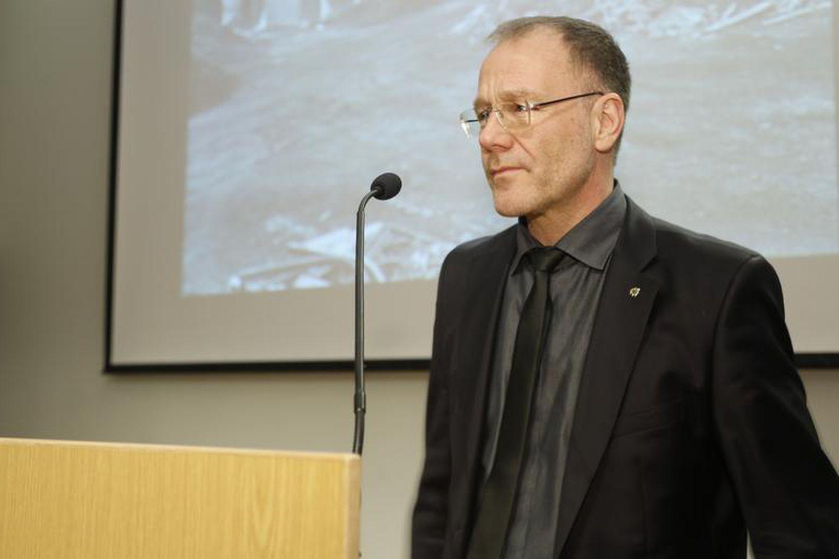Arnþór Jónsson, formaður SÁÁ.