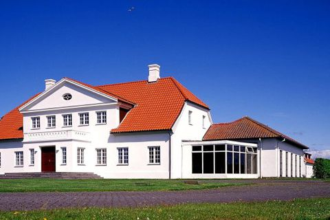 Bessastaðir, the official residence of the President of Iceland.