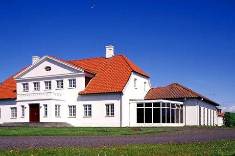 Bessastaðir, the official residence of the President of Iceland.