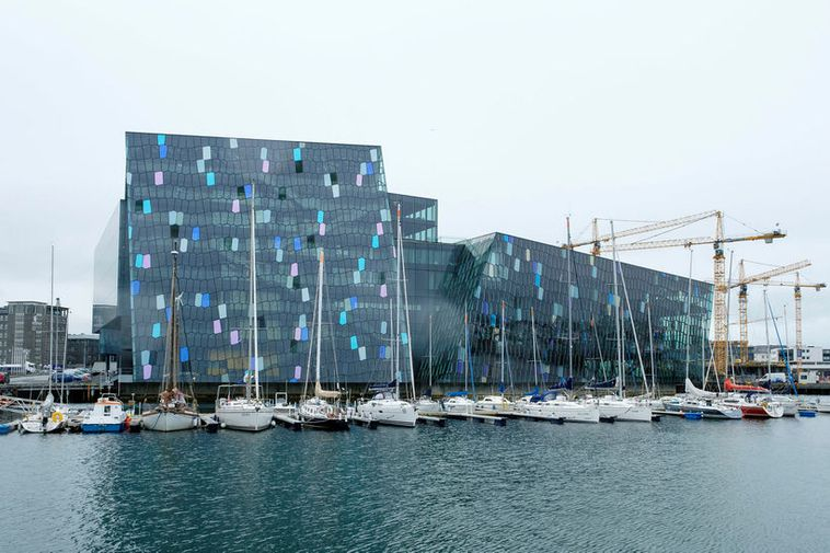 Harpa Concert Hall and Conference Centre opened in 2011 and is designed by Henning Larsen ...