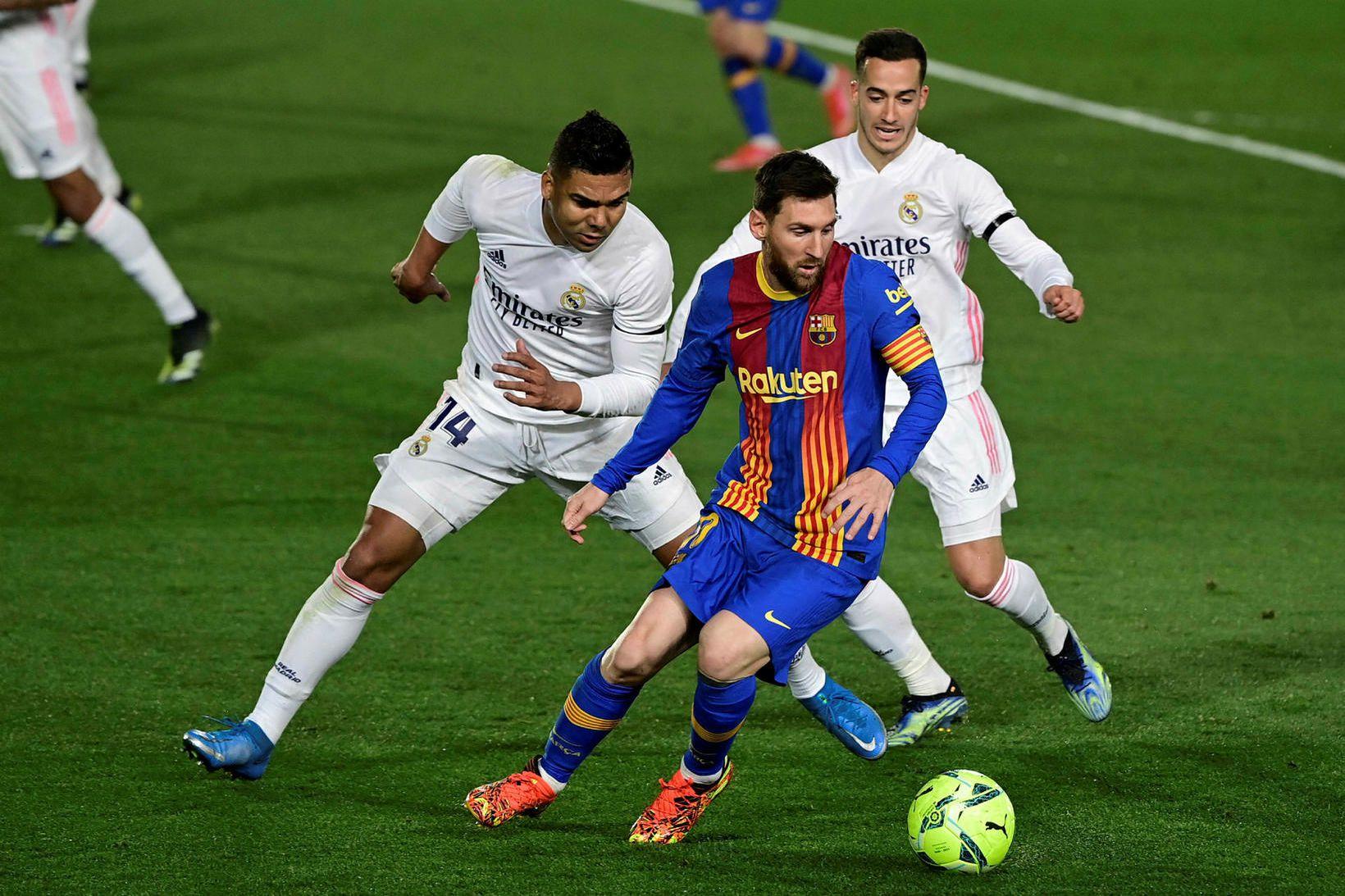 Real Madrid hafði betur, 2:1, þegar verðmætustu félög heims mættust …