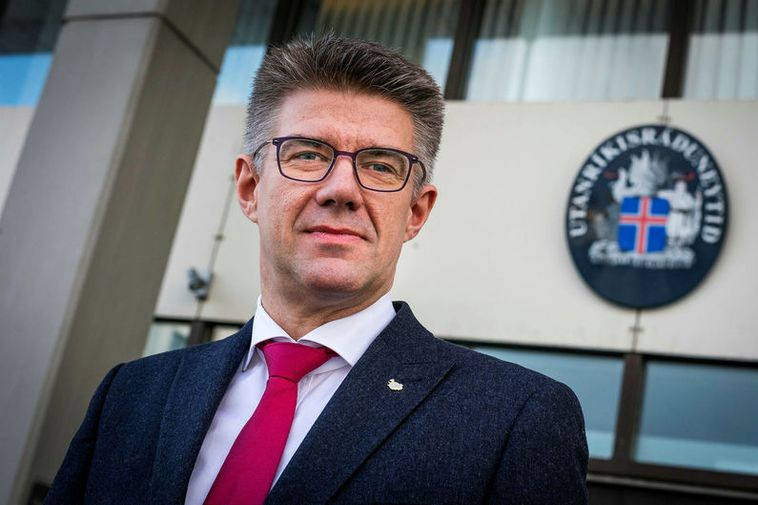 Former Minister for Foreign affairs and MP for the Centre Party Gunnar Bragi Sveinsson was ...