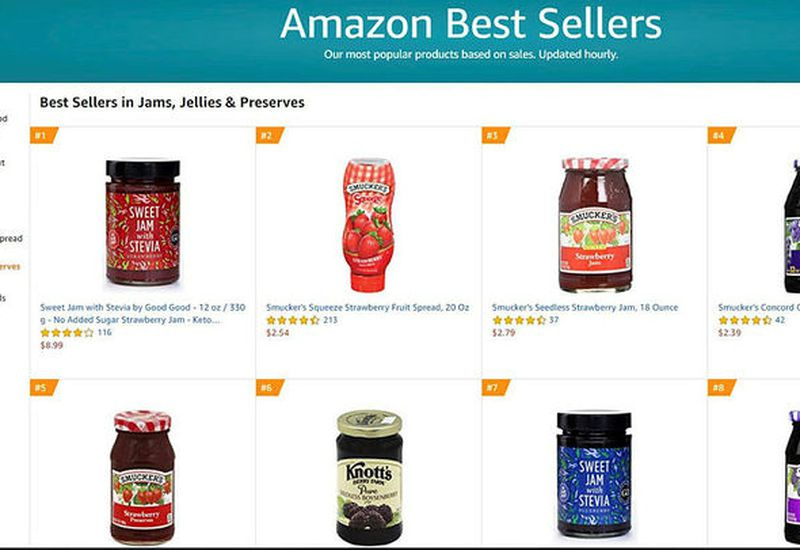 Good Good in top place on Amazon.