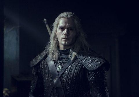 Henry Cavill í hlutverki sínu í þáttunum Witcher sem slegið hafa í gegn.