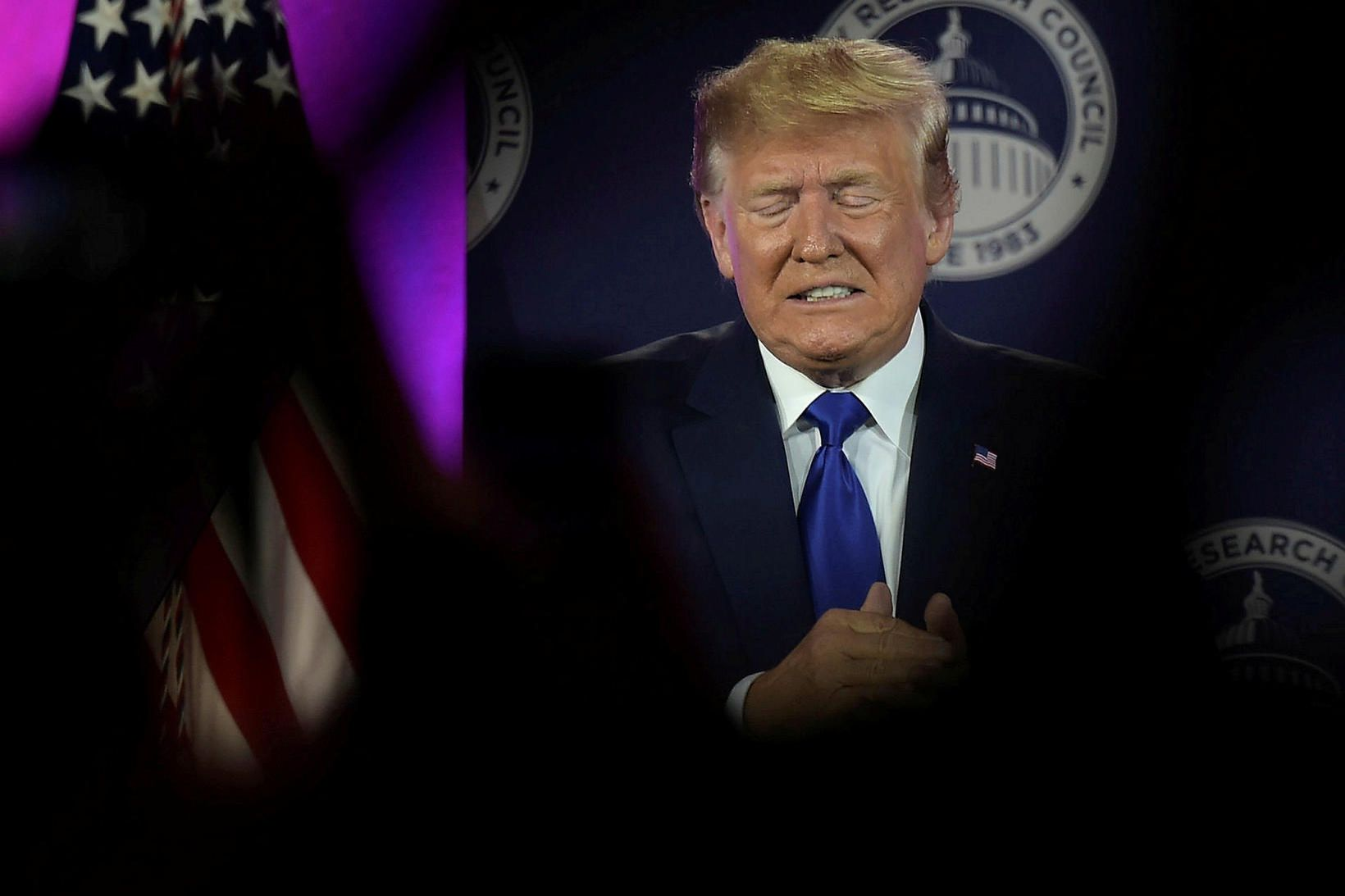 Donald Trump óskaði dótturinni ekki til hamingju með daginn á …