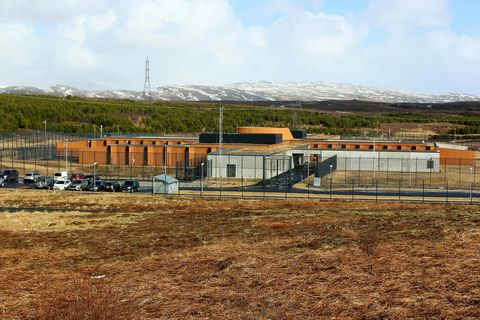 Hólmsheiði Prison.