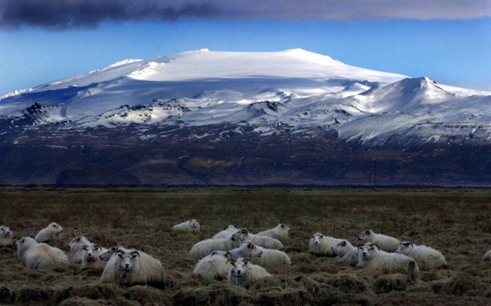 Óvenjumikil smáskjálftavirkni er nú við Eyjafjallajökul.