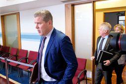 Bjarni Benediktsson sat fyrir svörum á fundi efnahags- og viðskiptanefndar í morgun.