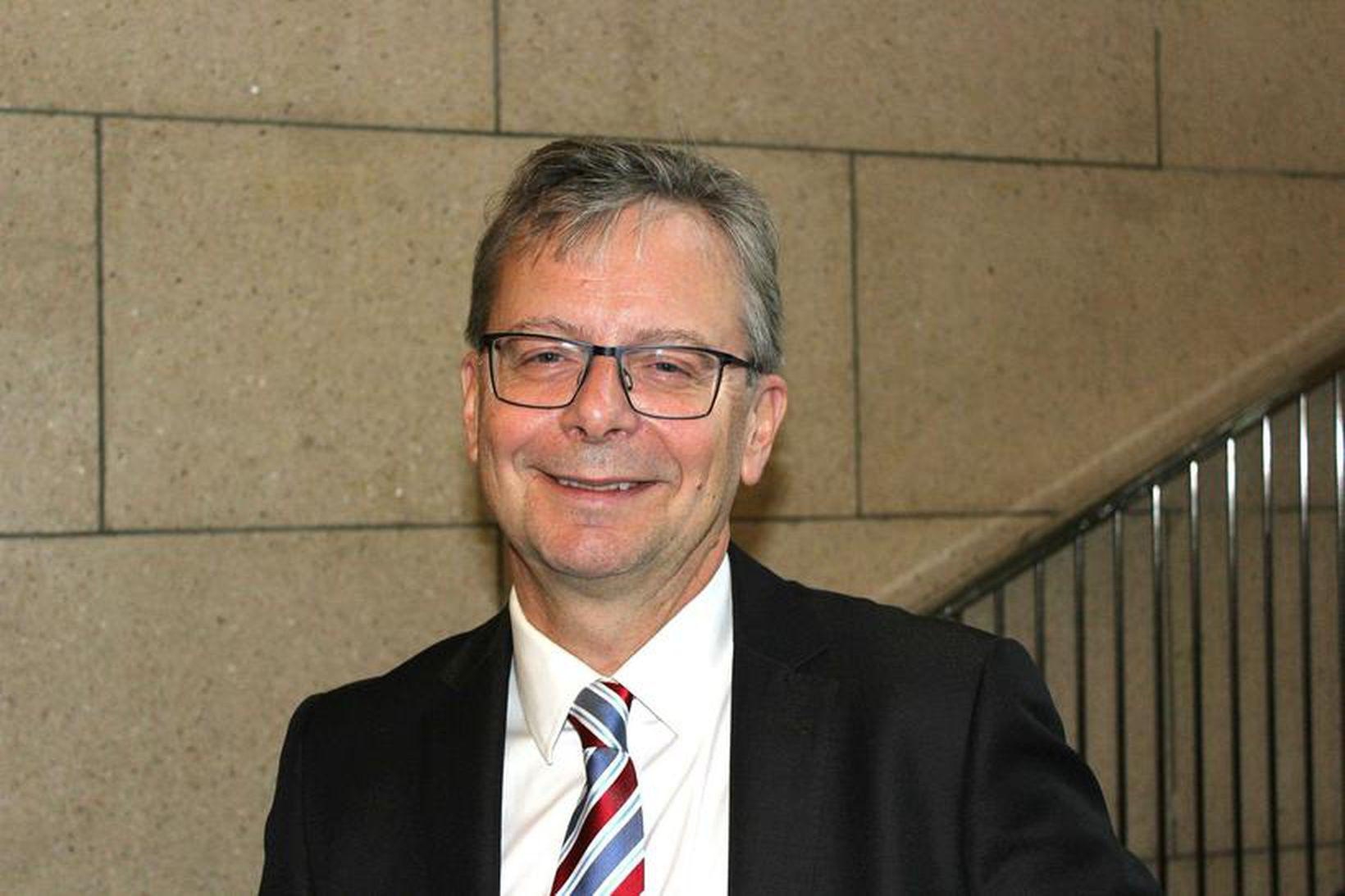 Jón Atli Benediktsson, rektor Háskóla Íslands, er sorgmæddur yfir rasískum …