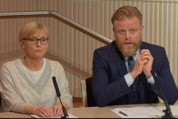 Rannveig Sigurðardóttir aðstoðarseðlabankastjóri og Ásgeir Jónsson seðlabankastjóri. Þrátt fyrir blikur á lofti á fasteignamarkaði er ...