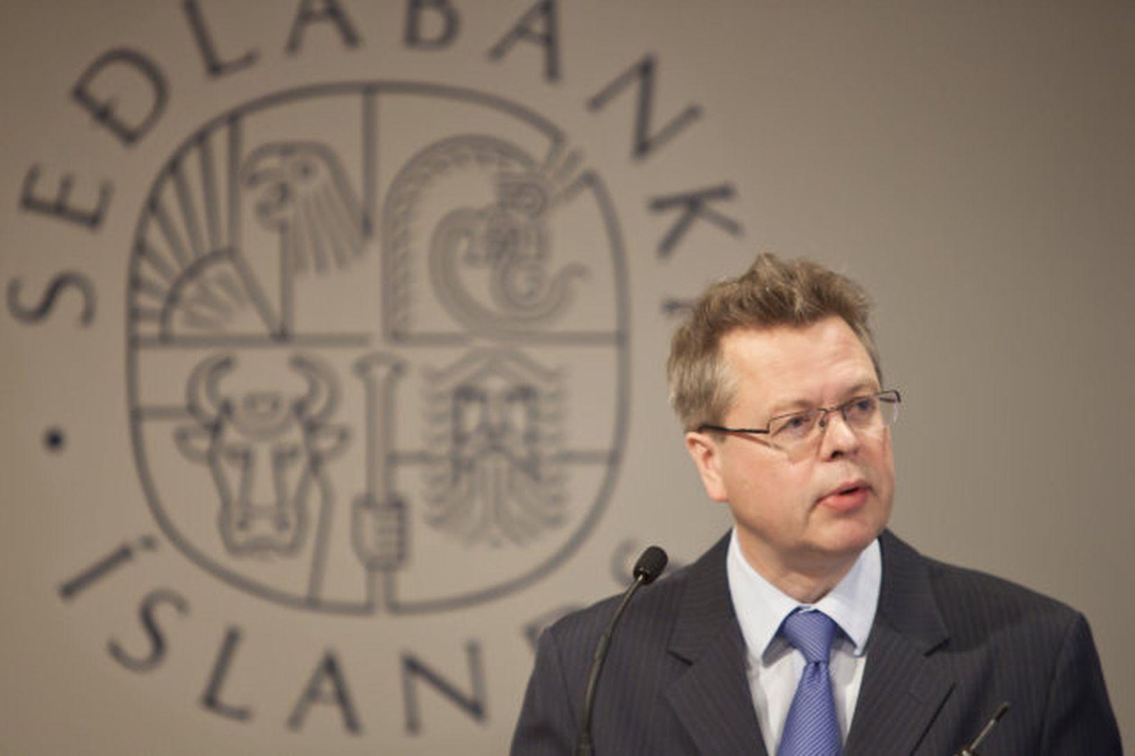Már Guðmundsson, seðlabankastjóri,