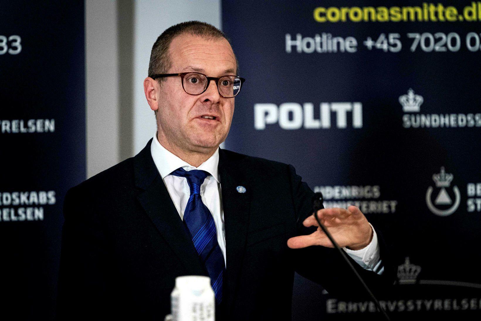 Hans Kluge, svæðisstjóri Alþjóðaheilbrigðismálastofnunarinnar í Evrópu.