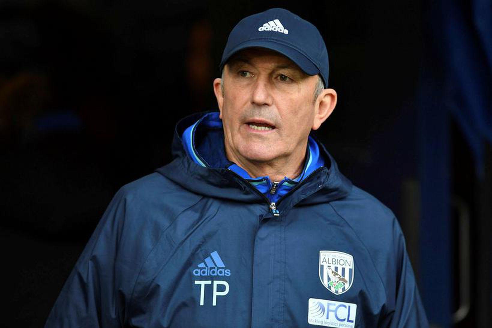 Tony Pulis stjórnaði Stoke um árabil.