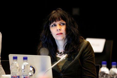 Birgitta Jónsdóttir, Pirate Party MP.