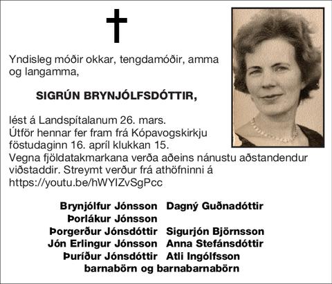 Sigrún Brynjólfsdóttir,