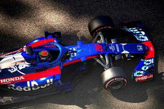 Nýsjálendingurin Brendon Hartley hjá Toro Rosso tjónaði bíl sinn oft á vertíðinni 2018.